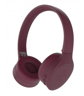 Casti Bluetooth Wireless KYGO A4/300 BURGUNDY, Bluetooth 4.2, Sound quality aptX®
