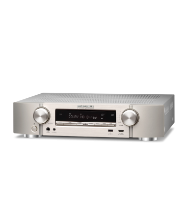 Network Receiver A/V 5.2 canale MARANTZ NR-1510 SILVER, ULTRA-SLIM, AirPlay 2, Siri , Google, Amazon Alexa - Voice Control, HEOS