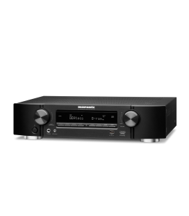 Network Receiver A/V 7.2 canale MARANTZ NR-1710 BLACK, ULTRA-SLIM, AirPlay 2, Siri, Google, Amazon Alexa - Voice Control, HEOS
