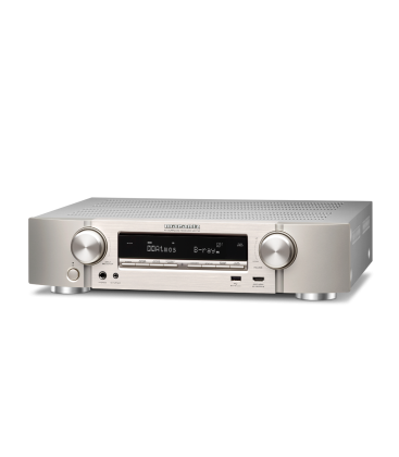 Network Receiver A/V 7.2 canale MARANTZ NR-1710 SILVER, ULTRA-SLIM, AirPlay 2, Siri, Google, Amazon Alexa - Voice Control, HEOS