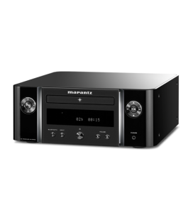Receiver stereo Marantz Melody M-CR412 Black, CD Playback, Bluetooth, si DAB+/FM radio