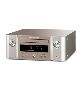 Receiver stereo MARANTZ MELODY X M-CR612 SILVER, AirPlay 2, HEOS, Bluetooth, DAB+/FM radio, Google Assistant, Apple Siri