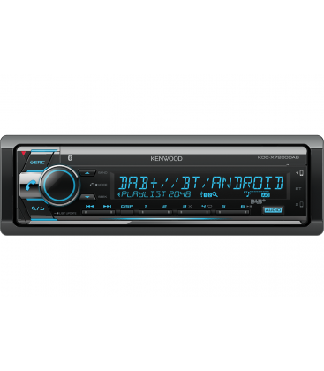 Mp3 player Auto KENWOOD KDC-X720DAB, CD, DAB Tuner, Bluetooth, Display Multicolor