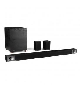 SoundBar KLIPSCH REFERENCE BAR 40 + Wireless Subwoofer si set sateliti wireless