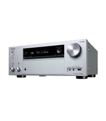 Network A/V Receiver 7.2 canale Onkyo TX-NR696 SILVER, DTS:X, Dolby Atmos®, Chromecast, Bluetooth®, Wi-Fi®, Spotify, FlareCon...