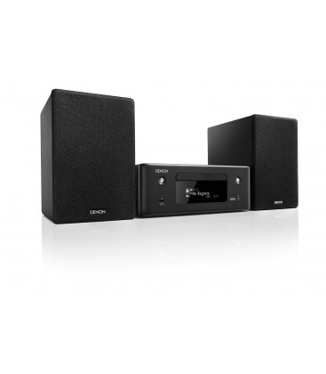 Micro Sistem Stereo Hi-Fi Denon CEOL N10 Black, Wi-Fi, Ethernet, AirPlay 2, Bluetooth®, FM/AM radio, CD player, HEOS Music