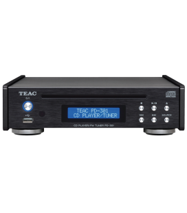CD Player hi-fi TEAC PD-301DAB-X BLACK cu Tuner FM/DAB si port USB