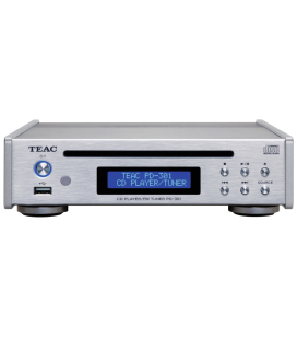 CD Player hi-fi TEAC PD-301DAB-X SILVER cu Tuner FM/DAB si port USB
