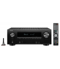 Network AV Receiver AV 7.2 Denon AVR-X2600H, 150W per channel, HEOS built-in, Wi-Fi, Airplay, Bluetooth, 4K Ultra HD, Hi-Res