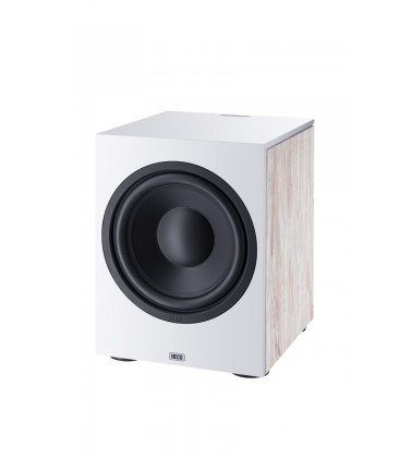 Subwoofer activ Heco Aurora Sub 30A White, 125W RMS/ 250W MAX