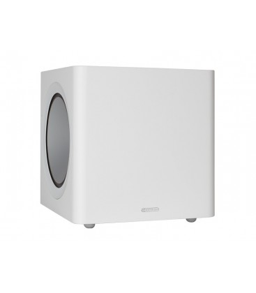 Subwoofer activ Monitor Audio Radius 390 White Gloss, 220W RMS