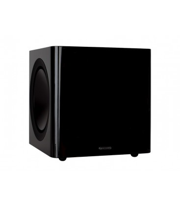 Subwoofer activ Monitor Audio Radius 390 BLACK Gloss, 220W RMS