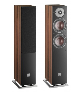 Boxe de podea DALI OBERON 5 Dark Walnut, 30-150W Recomended Amplifier Power, 88 dB - pereche