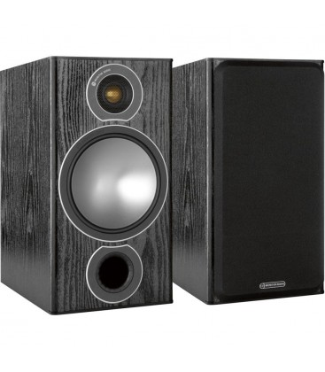 Boxe de raft Monitor Audio Bronze 2 Black Oak, 100W RMS, 90dB - pereche