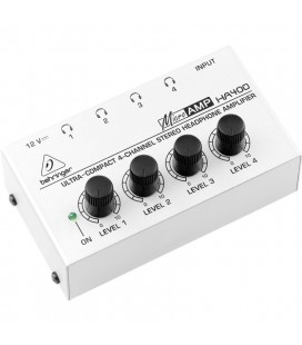 Amplificator Distribuitor semnal audio BEHRINGER MICROAMP HA400