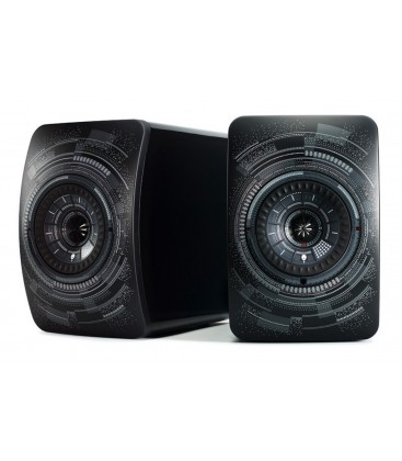 Boxe wireless KEF LS50 'Nocturne' by Marcel Wanders, Bluetooth 4.0 aptX®, USB Type B, TOSLINK Optical, RCA   - pereche