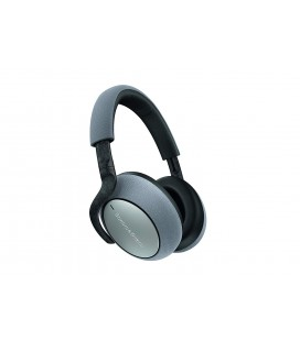 Casti Wireless Over Ear Bowers & Wilkins PX7 Silver, Adaptive Noise Cancelling
