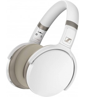 Casti over ear Wireless SENNHEISER HD 450BT WHITE, Bluetooth 5.0, Active Noise Cancelling, Smart Control App