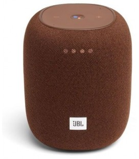 Boxa Wi-Fi  JBL Link Music Brown, Wireless streaming via Wi-Fi or Bluetooth, Google Assistant
