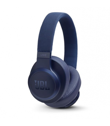 Wireless On-Ear Headphones JBL Live 500BT Blue, Bluetooth 4.2,  Google Assistant, Amazon Alexa