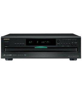 CD Player Onkyo DX-C390 BLACK, 6 discuri, USB, Remote