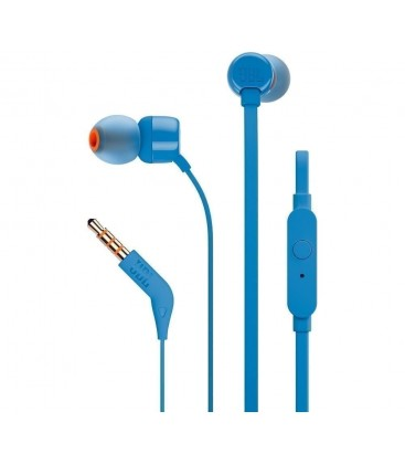 In-ear headphones JBL Tune T110 Blue