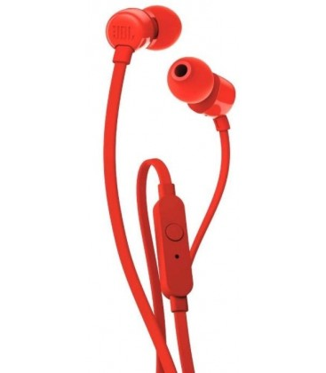 In-ear headphones JBL Tune T110 Red