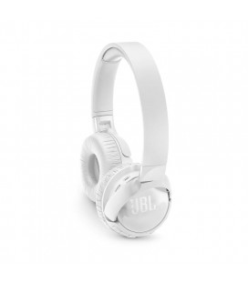 Wireless, on-ear, active noise-cancelling headphones JBL Tune 600BTNC White, Bluetooth 4.1