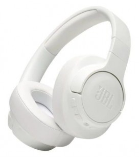 Wireless, active noise cancelling over-ear headphones JBL Tune 750BTNC White, Bluetooth 4.2