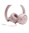 Wired on-ear headphones JBL Tune 500 Pink, Ask Siri or Google Now