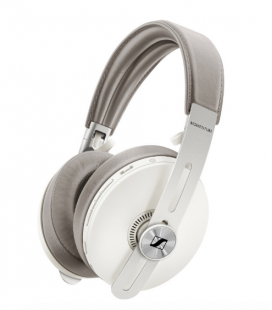 Casti Wireless SENNHEISER MOMENTUM 3 OVER EAR WIRELESS Sandy White, Active Noise Cancellation, Bluetooth 5.0, NFC