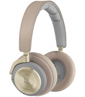 Casti wireless on ear cu microfon BANG & OLUFSEN BEOPLAY H9 3RD GEN ARGILA BRIGHT, ANC Active Noise Cancelling