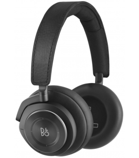 Casti wireless on ear cu microfon BANG & OLUFSEN BEOPLAY H9 3RD GEN MATTE BLACK, ANC Active Noise Cancelling