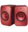 Boxe wireless KEF LSX RED Wireless Stereo Music System, Bluetooth 4.0 aptX®, TOSLINK Optical,  2X100W RMS - pereche
