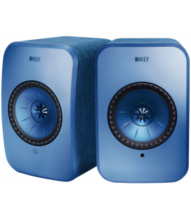 Boxe wireless KEF LSX BLUE Wireless Stereo Music System, Bluetooth 4.0 aptX®, TOSLINK Optical,  2X100W RMS - pereche