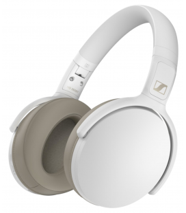 Casti over ear Wireless SENNHEISER HD 350BT WHITE, Bluetooth 5.0, SBC, AAC, AptX™, AptX™ Low Latency Autonomie pana la 30 de ore