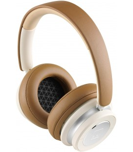 Casti wireless on ear DALI IO-6 CARAMEL WHITE, BLUETOOTH 5.0, Active Noise Cancellation, AAC, aptX, aptX HD