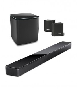 SET BOSE SOUNDBAR 700 BLACK, BASS MODULE 800, SURROUND SPEAKERS