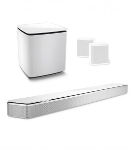 SET BOSE SOUNDBAR 700 WHITE, BASS MODULE 700, SURROUND SPEAKERS