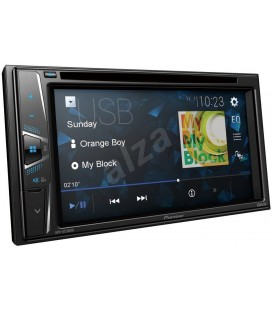 DVD Player Auto PIONEER AVH-G220BT, 2DIN, CD/DVD, Ecran tactil 6.2 inch, Bluetooth, 4x50W, USB, AUX, iesire video