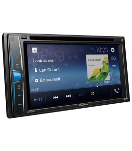 DVD Player Auto PIONEER AVH-A210BT, 2DIN, CD/DVD, Ecran tactil 6.2 inch, Bluetooth, 4x50W, iPod / iPhone Direct Control