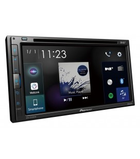 "DVD Player Auto PIONEER AVH-Z5200DAB, 2DIN, CD/DVD, Ecran tactil 6.8"", Bluetooth, 4x50W, DAB/DAB+, Apple Carplay, Android Auto"