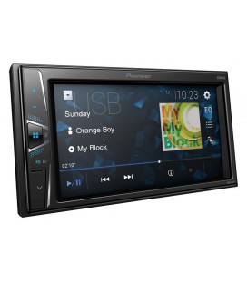"MultiMedia Player Auto PIONEER DMH-G120, 2DIN, Ecran tactil 6.2"", 4x50W, Tuner, USB, Aux-In"