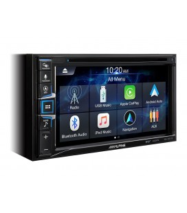 NAVIGATIE AUTO 2DIN  ALPINE INE-W611D, DAB+, HDMI, CD/DVD Player si compatibilitate Apple CarPlay si Android Auto