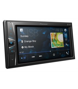 "MultiMedia Player Auto PIONEER DMH-G220BT, 2DIN, Ecran tactil 6.2"", Bluetooth, 4x50W, Tuner, USB, Aux-In"