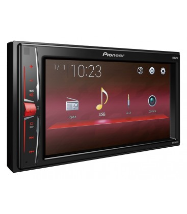 """MultiMedia Player Auto PIONEER MVH-A100V, 2DIN, Ecran tactil 6.2"""", USB, 4x50W, Tuner, USB, Aux-In, Android Compatible"""