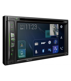 "NAVIGATIE AUTO 2DIN PIONEER AVIC-Z730DAB, ECRAN TACTIL 7"", Apple CarPlay wireless, Waze, Bluetooth and DAB+"