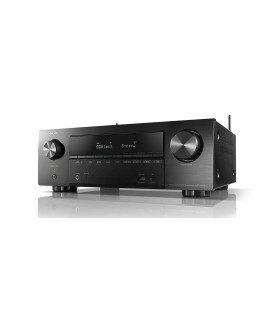 Network Receiver AV 7.2 Denon AVR-X1600H, 145W per channel, HEOS built-in, Wi-Fi, Airplay, Bluetooth, 4K Ultra HD, Hi-Res