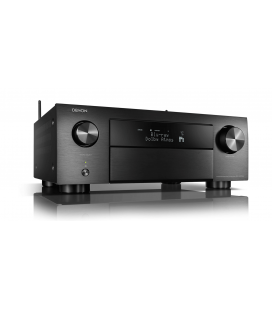Network Receiver AV 9.2 Denon AVC-X4700H Black, 200W/Ch, HEOS, Wi-Fi, Airplay 2, Bluetooth, 8K/60Hz and 4K/120Hz - black