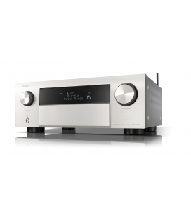 Network Receiver AV 9.2 Denon AVC-X4700H Silver, 200W/CH, HEOS, Wi-Fi, Airplay 2, Bluetooth, 8K/60Hz and 4K/120Hz - black